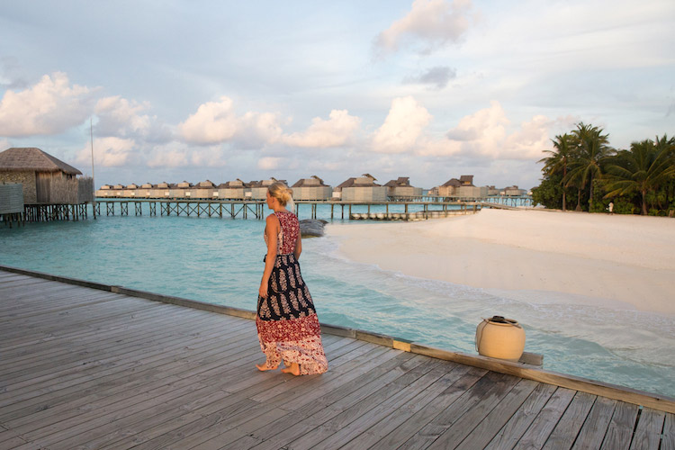 Six Senses Laamu is perfect for couples and family surf holidays