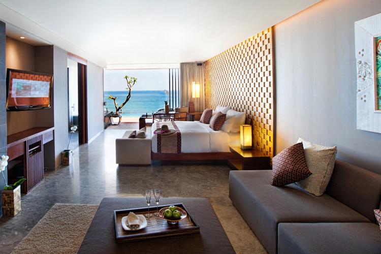 Anantara Uluwatu Bali Resort Interior of Ocean Front Suite