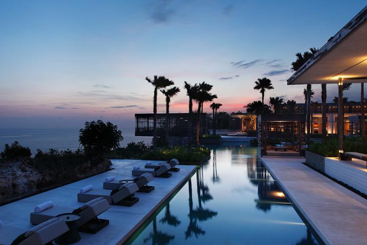 Alila Villas Uluwatu luxury Bali surf resort in Indonesia