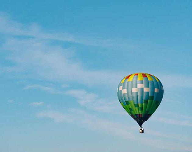 Hot Air Ballooning near Halcyon House