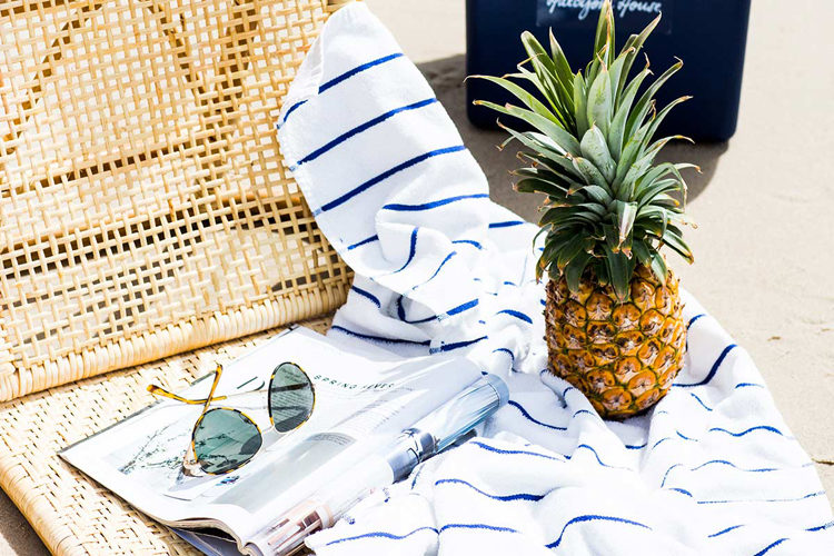 Beach details at Halcyon House