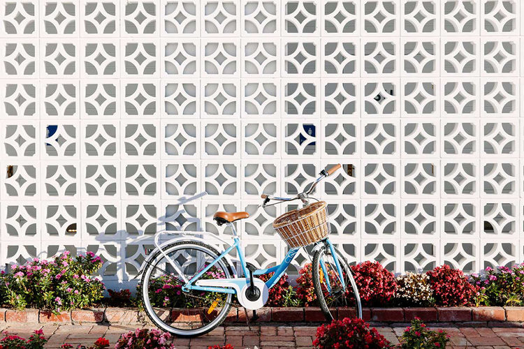 Vintage inspired bikes at Halcyon House