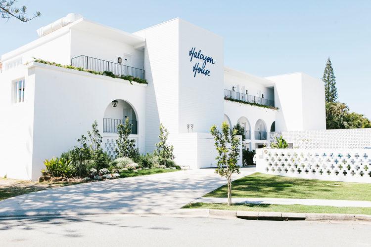 Exterior of Halcyon House Australian Surf Resort