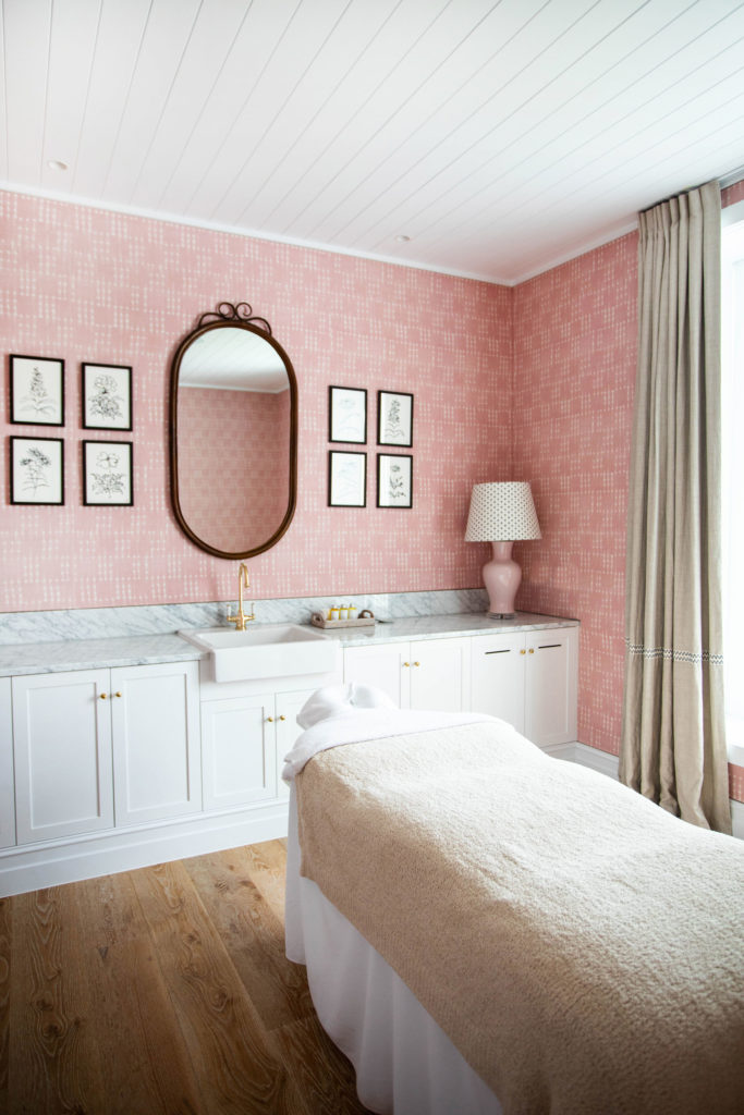 Beautifully designed treatment rooms at Halcyon House