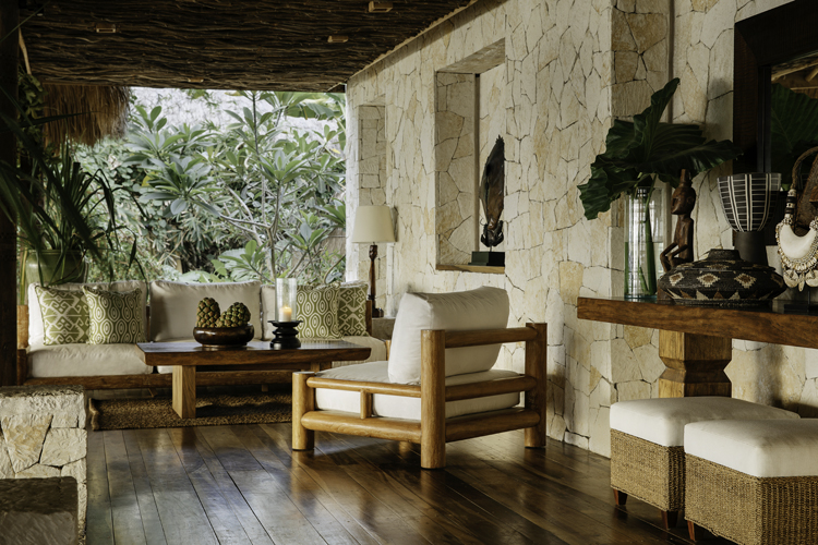 stunning interior design at Ombak Restaurant Nihi Sumba the perfect destination for a barefoot luxury surf trip