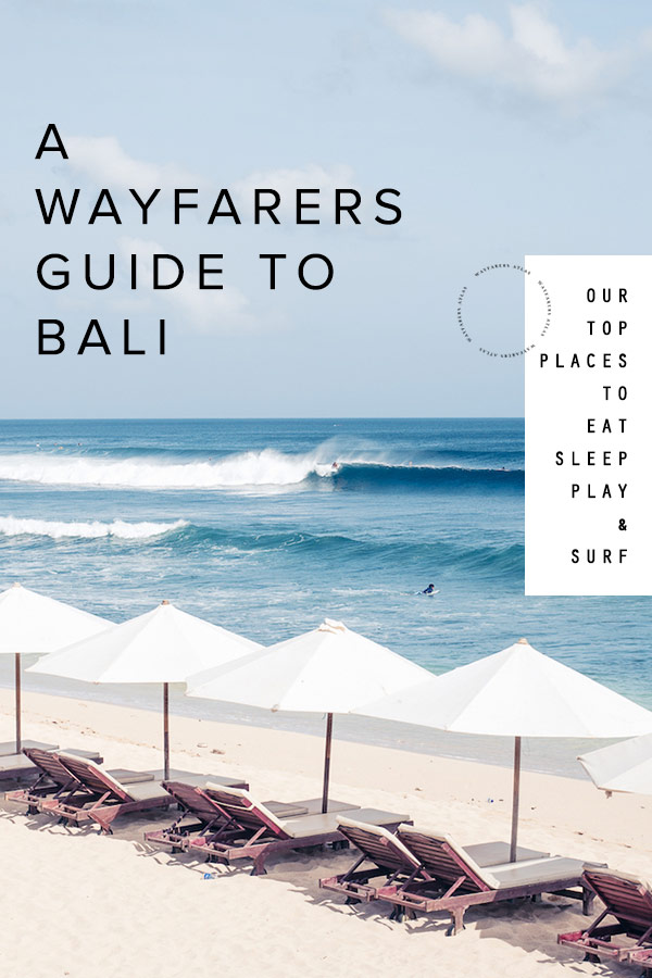 Wayfarers Atlas Bali Family Travel Guide