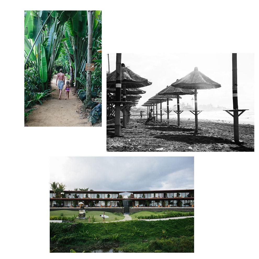 Wayfarers Atlas Bali surf resort Hotel Komune